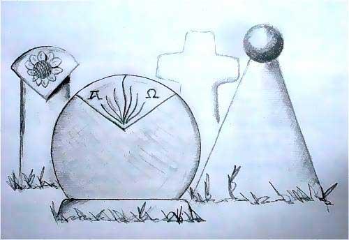 Grabmalskizzen