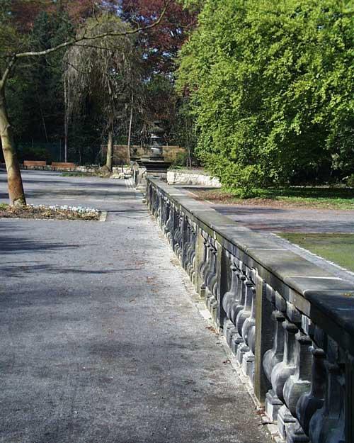 Barockgarten Steinrestaurierung