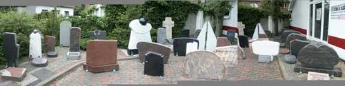 Bissendorf - Grabmalausstellung der Bild- und Steinhauerei Hinze