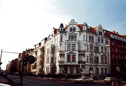Restaurierten Fassade