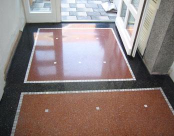 Bodenbelage Aus Terrazzo Marmor Schleifen Polieren Hinze