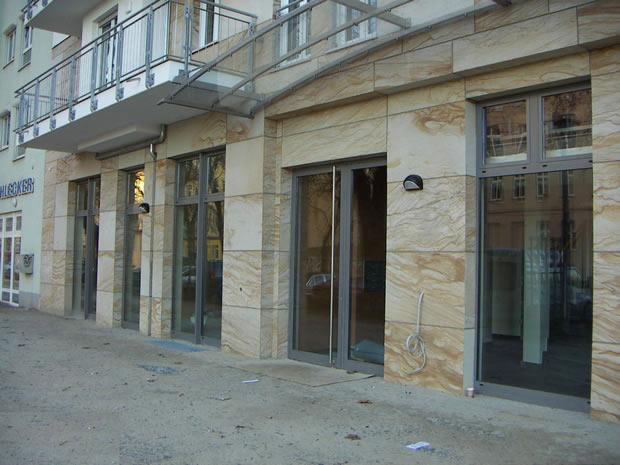 Fassade aus FlexSandstein